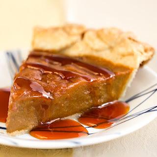 Vegan Caramel Sweet Potato Pie