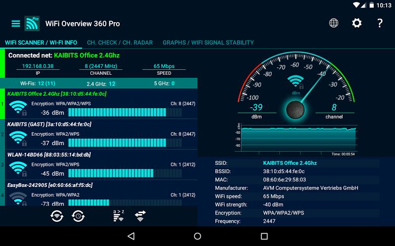 WiFi Overview 360 Pro Screenshot 11