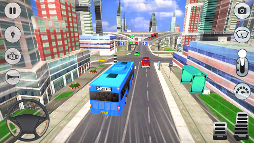 City Coach Bus Driver 3D Bus Simulator 1.1 screenshots 6