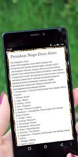 Primbon Nogo Dino Jowo - náhled