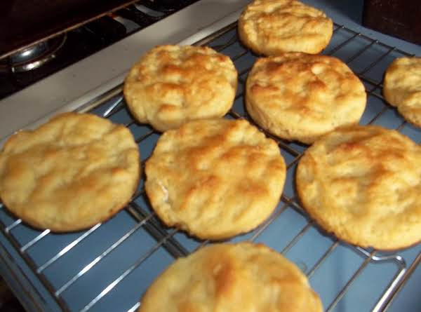 These Hawaiian Sweet English Muffins Had Just Come Out Of Oven.