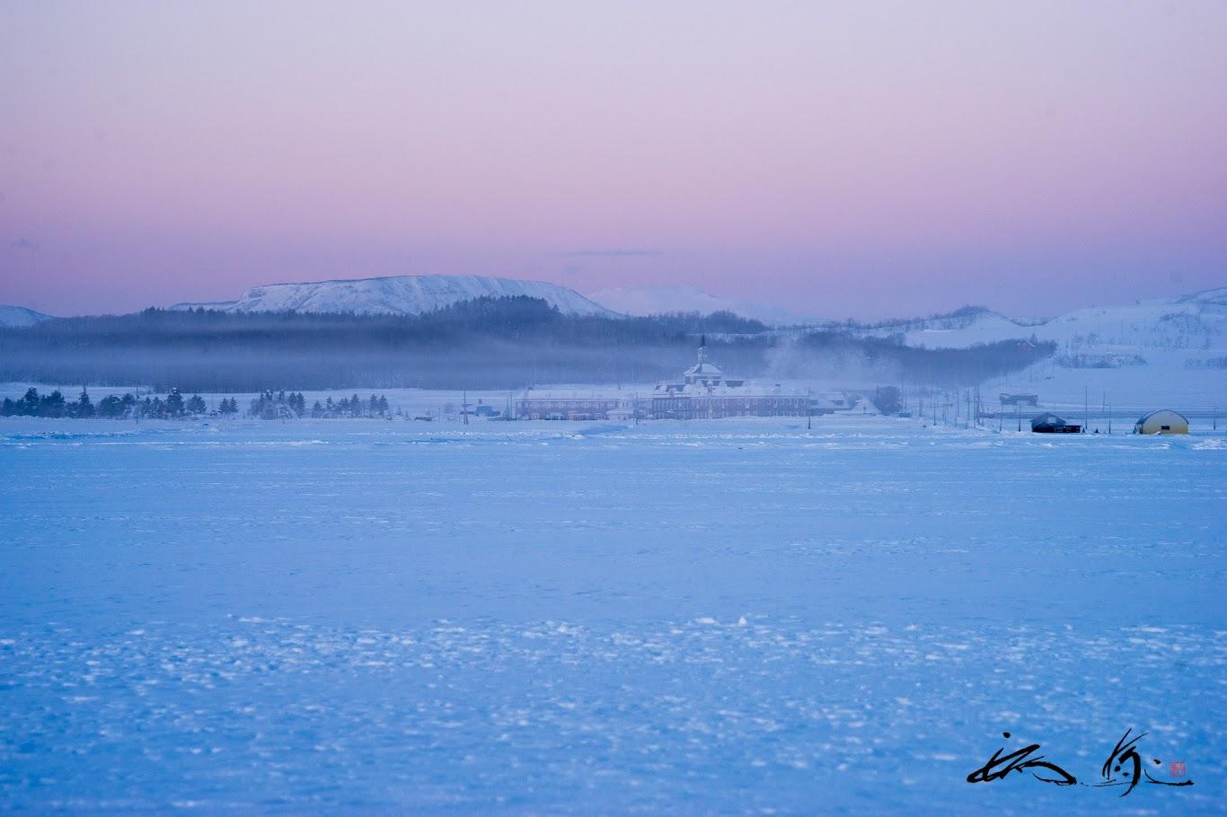 空気まで凍りつく風景