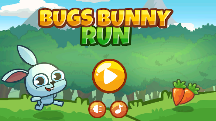Baby Bugs Bunny Run - screenshot