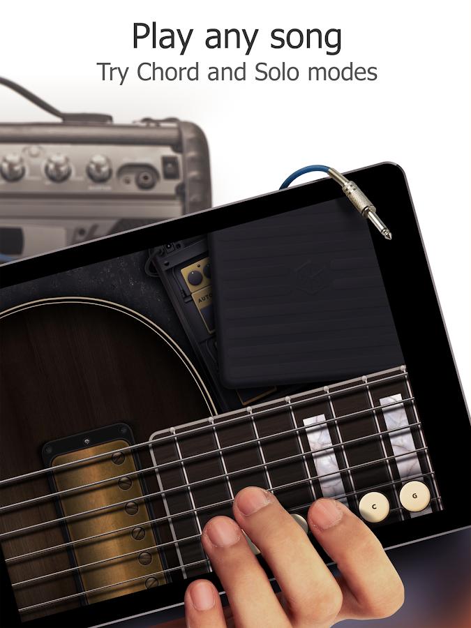 Screenshots of Real Guitar - Free Guitar Game for iPhone