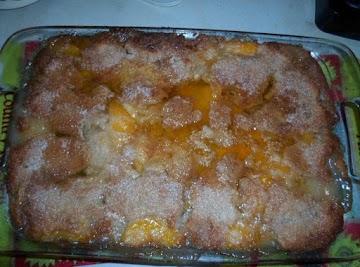Peachy - Peach Cobbler Recipe