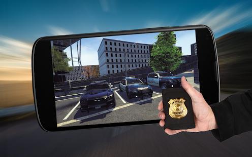 Police Car Criminal Chase Offroad Drive Simulator - náhled