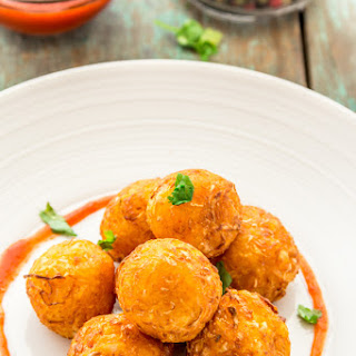 Crispy & Crunchy Cabbage Fritters.