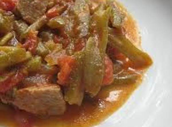 Green Bean Stew Recipe
