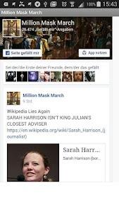 Million Mask March Global screenshot 0