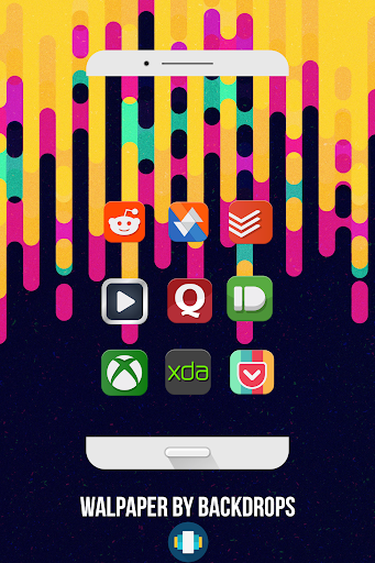 DmonD Icon Pack  Aplikacije za Android screenshot