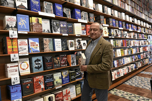 A feel for literature: Benjamin Trisk, CEO of Exclusive Books, at the Hyde Park store in Sandton. Picture: FREDDY MAVUNDA