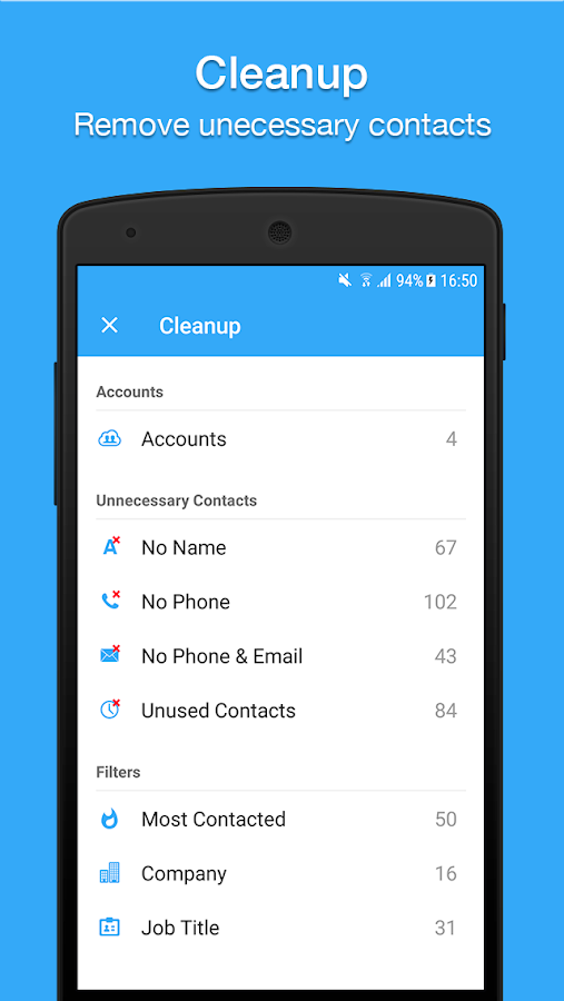 Contacts, Dialer, Phone & Call Block by Simpler- screenshot