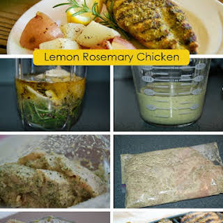 Simple Rosemary Lemon Marinade and Grilled Chicken.