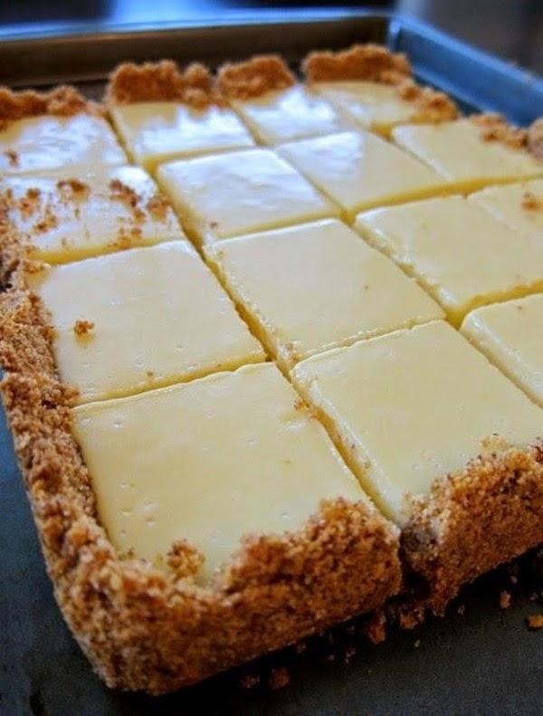 Creamy Lime Squares Recipe