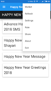 Happy New Year 2018 Shayari - náhled