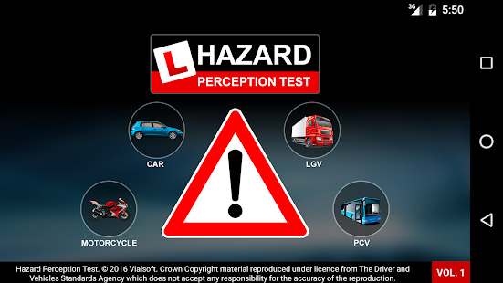 Hazard Perception Test Vol 1: DVSA Hazard Clips- screenshot thumbnail