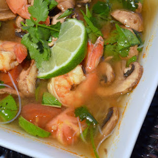 Tom Yum Soup With Shrimp