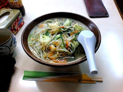 太栄食堂・野菜そば