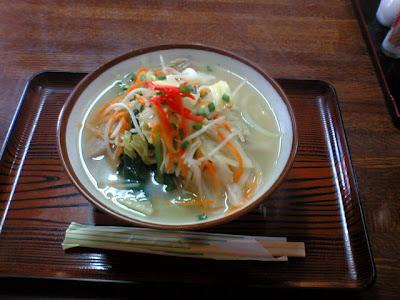 ○や食堂・野菜そば