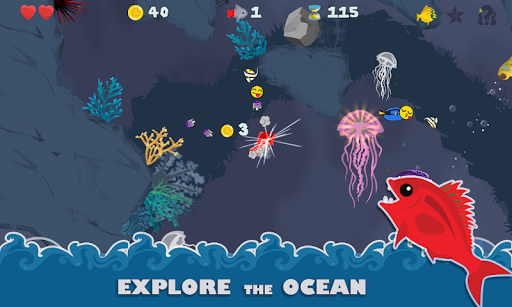 HungryFin: Underwater Puzzle Adventure 1.7.9 screenshots 1