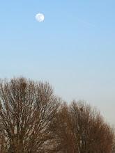 Photo: Luna piena su Castelfranco
