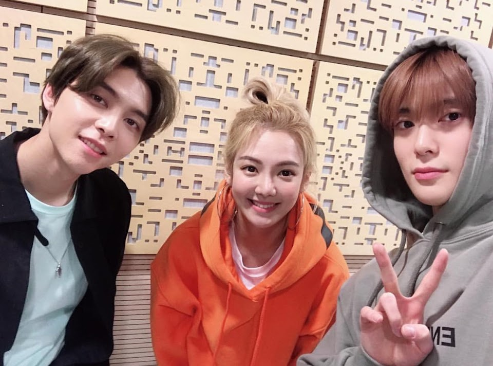 girls generation hyoyeon nct 127 johnny jaehyun