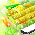 Fleurs jaunes Summer clavier icon