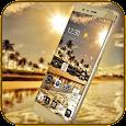 Gold Coast luxury deluxe Theme apk