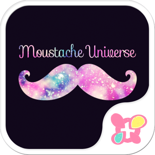 wallpaper-Moustache Universe- Icon