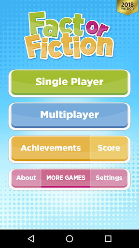 Fact Or Fiction - Knowledge Quiz Game Free screenshots 1