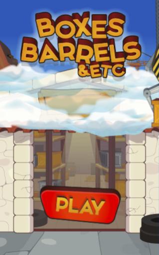 Boxes Barrels Etc