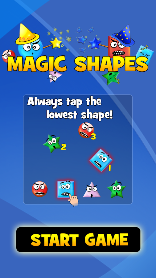 Magic Shapes Lite- screenshot