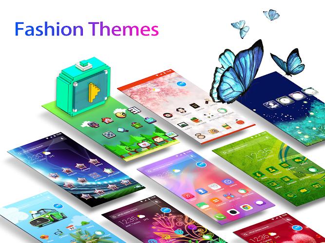 APUS Launcher - Theme, Wallpaper, Hide Apps Android App Screenshot