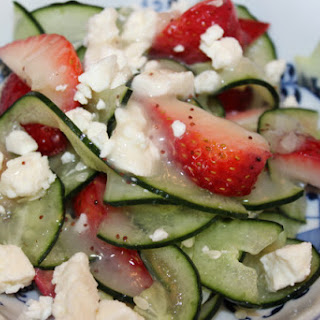 Cucumber & Strawberry Salad