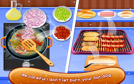 Crazy Hot Dog Maker - Crazy Cooking Adventure Game ss2