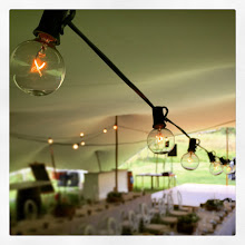 Photo: Our Vintage globe lights really add something special