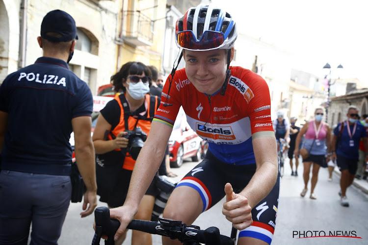 Anna van der Breggen neemt leiding over in Giro Rosa na tweede plaats in achtste rit
