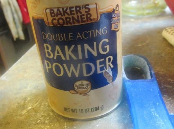 Add salt, baking powder, & blend together. Set aside till needed.