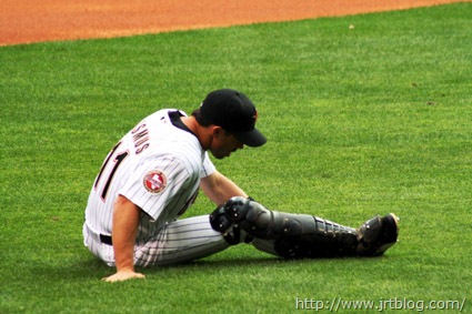 08-03-14 ausmus stretching out