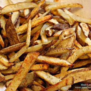 Crispy Garlic Matchstick Fries.