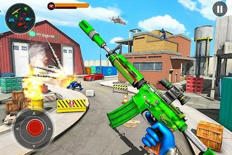 FPS Robot Shooting Strike MOD (Immortality/Dumb Enemy) 1