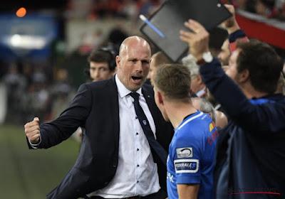 """Clement heureux après la victoire au Standard : """"L'une des équipes les plus difficiles à jouer en déplacement"""""""