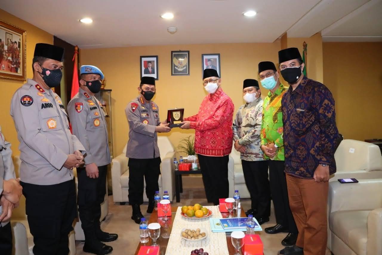 Kunjungi LDII, Kapolri Bahas Dai Kamtibmas Hingga Moderasi Beragama