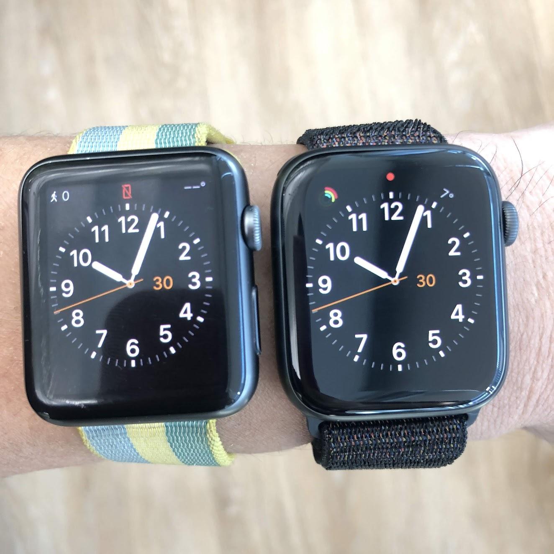 애플와치 1 vs. 4