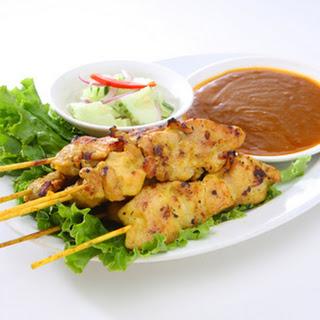 Thai Chicken Satays.
