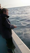 "Photo: 初乗船の""もろおかさん""!"