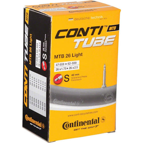 Continental Light 26 x 1.75-2.5 42mm Presta Valve Tube