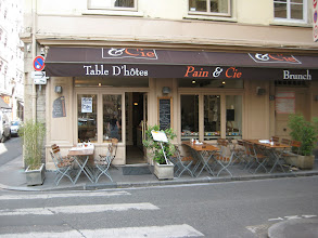 Photo: A nice cafe we found for lunches.