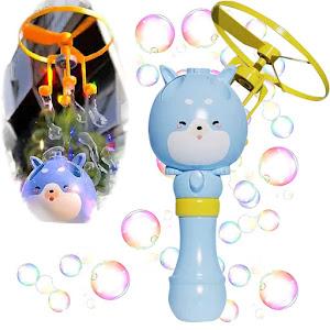 Jucarie zburatoare pentru facut baloane de sapun