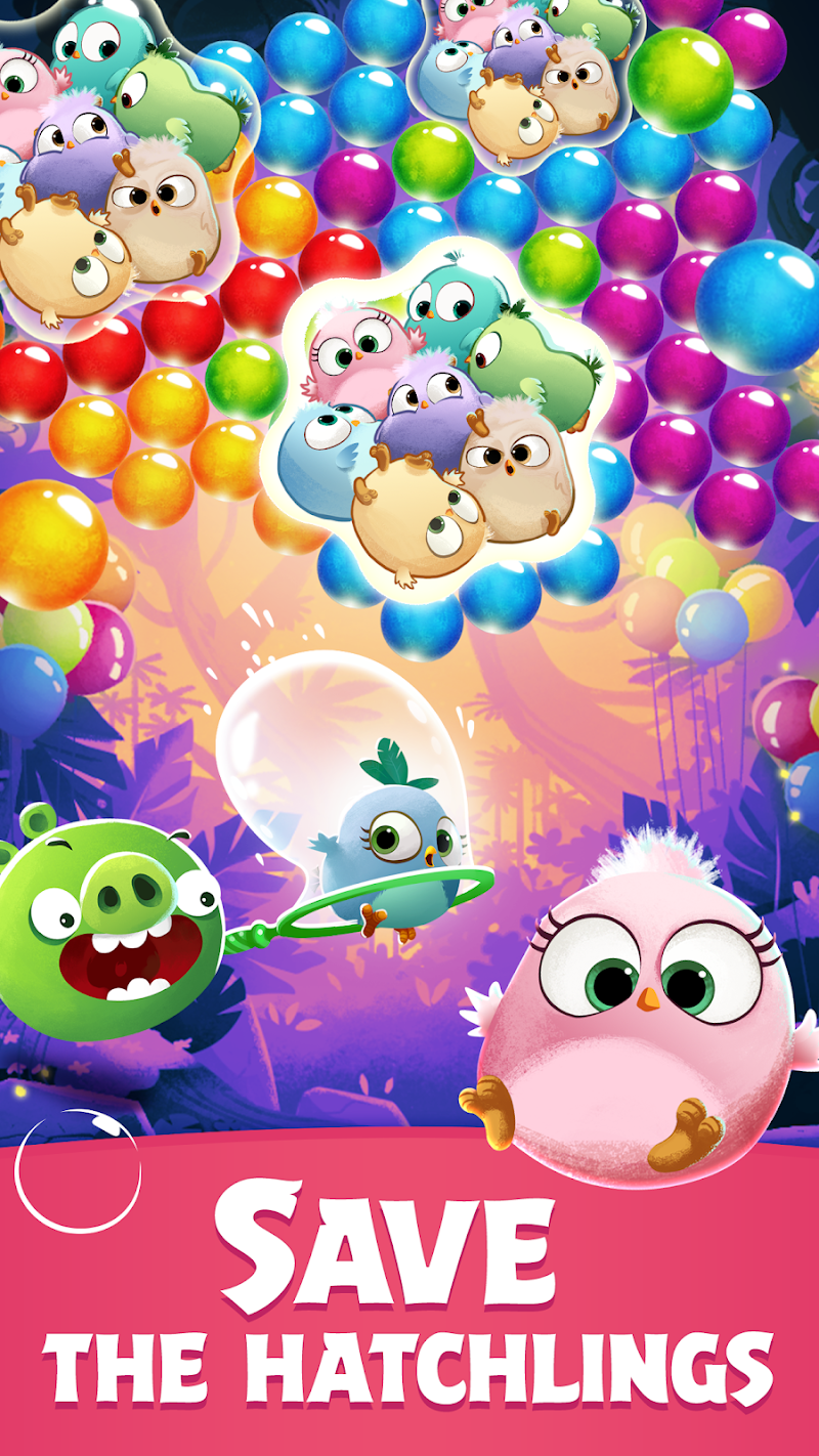 Angry Birds POP Bubble Shooter Screenshot 0